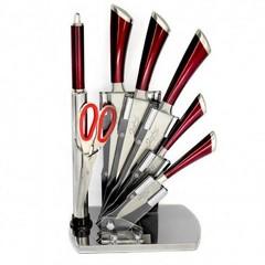 Метални ножове на стойка