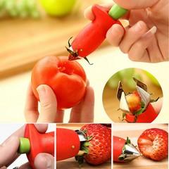 Прибор за чистене на ягоди и домати