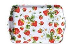 Поднос Strawberries All Over