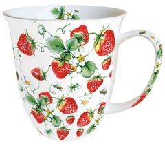 Чаша Strawberries All Over