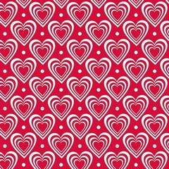Салфетки Hearts In Hearts Red
