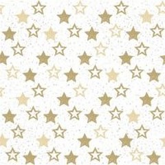 Салфетки Stars All Over Gold