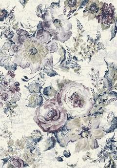 Килим Argentum синьо-лила цветя