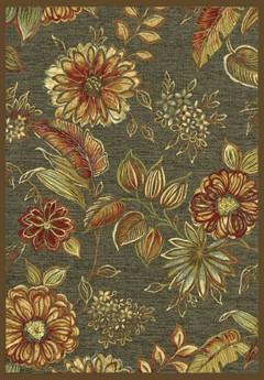 килим Genova цветя резедава основа