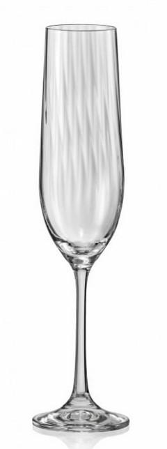 К-кт чаши за шампанско Bohemia Royal Waterfall