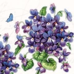 Салфетки Viola