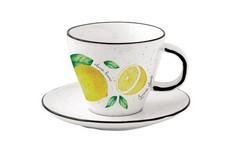 Чаша с чинийка AMALFI