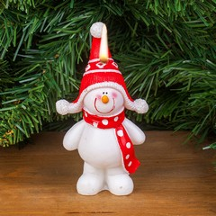 Свещ снежно човече МН94