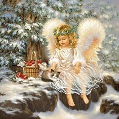 Салфетки Winter Angel