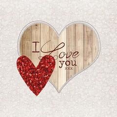 Салфетки I love you
