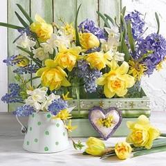 Салфетки Mix Of Flowers