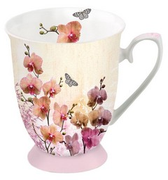 Чаша Ambiente Orchids Orient