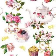 Салфетки Flower In Teacup