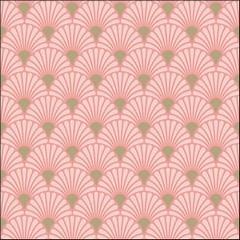 Салфетки Art Deco Rose/Gold