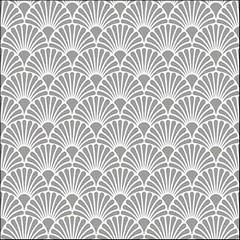 Салфетки Art Deco Silver/White