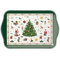 Поднос Christmas Evergreen White