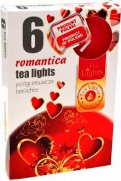 Свещи чаени ROMANTICA