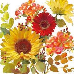 Салфетки Ambiente Sunny Flowers Cream