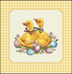 Декоративна калъфка Жълти патета
