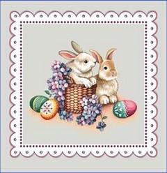 Декоративна калъфка Великден