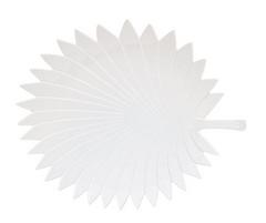 Плато 2053 TROPICAL LEAVES LIGHT WHITE