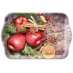 Поднос Winter Apples